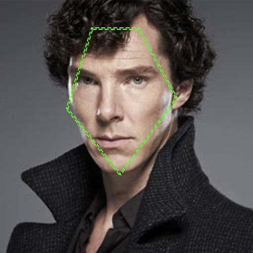 Benedict Cumberbatch, visage en diamant