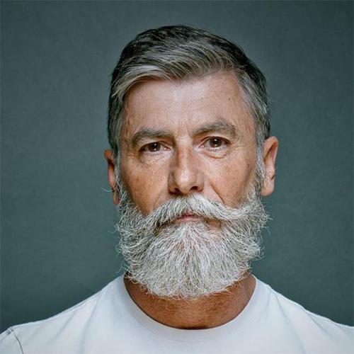 Phillippe Dumas, chevelure pouvre-sel